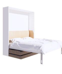 เตียงพับติดผนัง รุ่น urbano6 เปิดเตียง