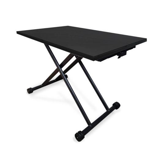 โต๊ะปรับระดับ amass สีดำ