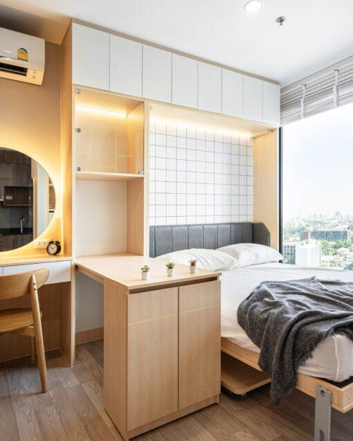 ห้องนอนสไตล์มูจิ